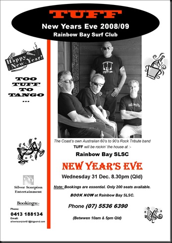 TUFF Talk New Years Eve 2008