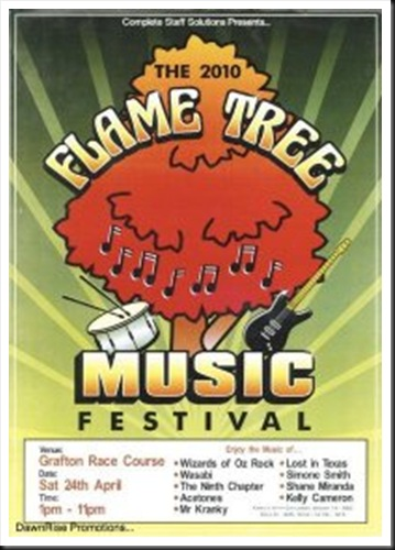 FLAME TREE FESTIVAL 2010