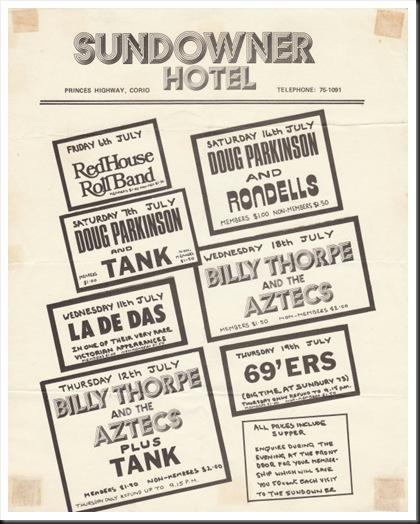 sundowner 1973